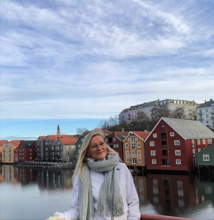 Åresta Trondheim Norja, sää helmikuu, nähtävää, värikkäät puutalot, matkablogi