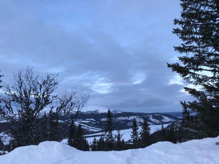Åren talvisia maisemia Ruotsissa, matkailu, matkablogi, korona