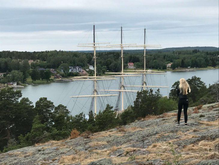 Ahvenanmaan saaristokierroksella, Museolaiva Pommern, Maarianhamina, matkailu, matkablogi, korona