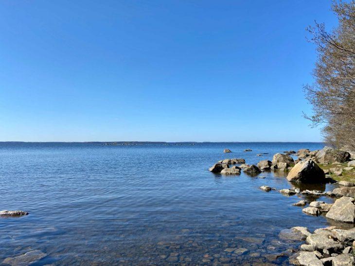 Västerö vaellusreitti Merenkurkun saaristo, meren läheisyys saaristossa, ulkosaaristo