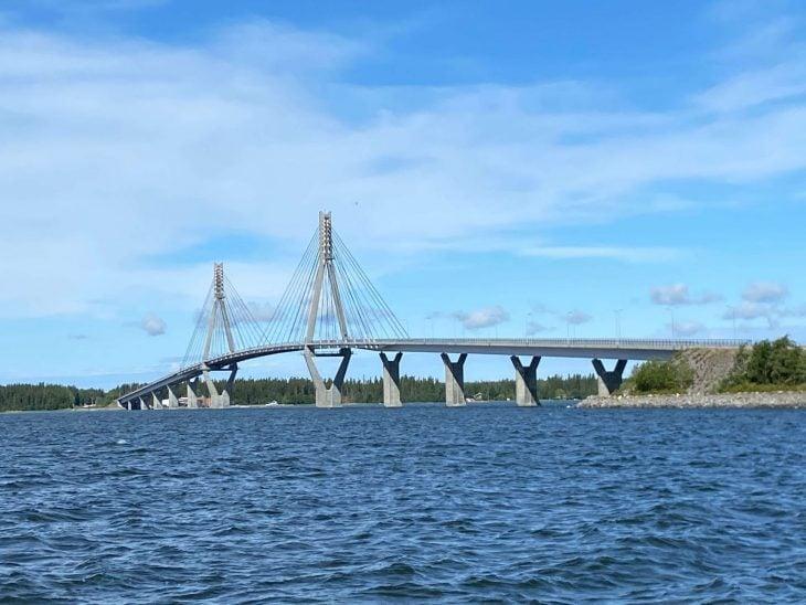 Raippaluodon silta Merenkurkun saaristoon