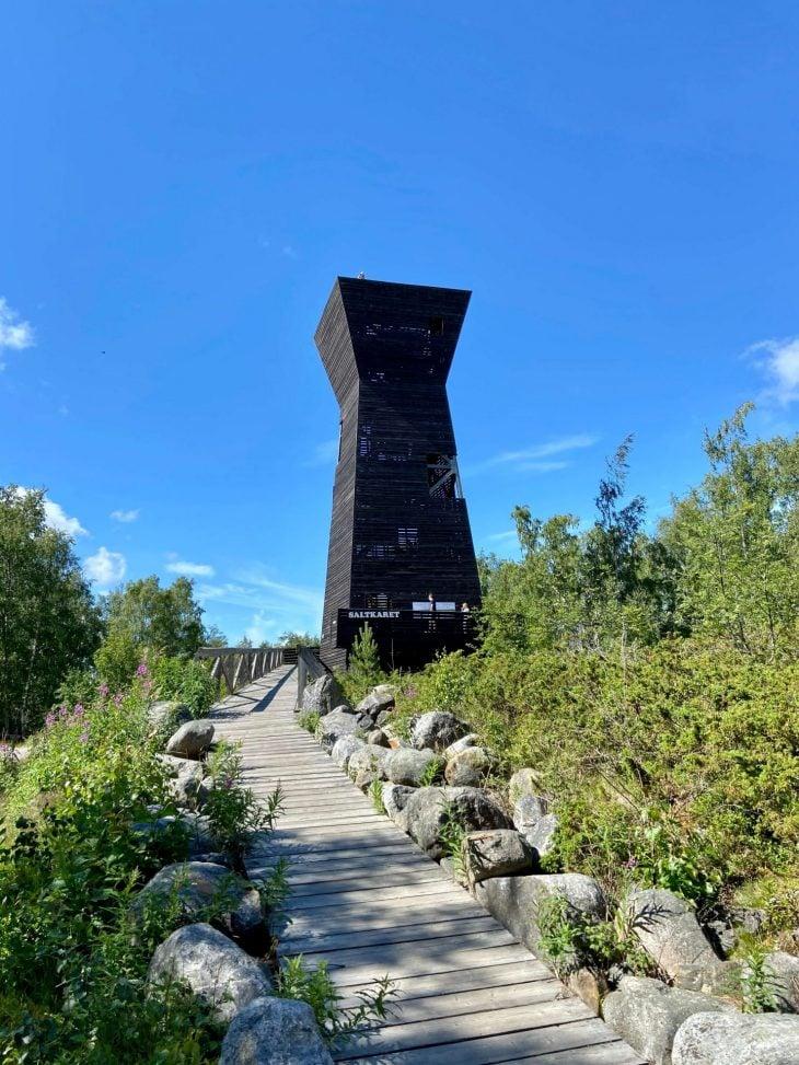 Saltkaret näköalatorni, Björköby Raippaluoto Mustasaari nähtävää, Merenkurkun saaristo