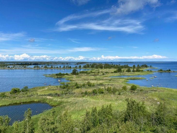 Saltkaret nakoalatorni Svedjehamn Raippaluoto Bjorko Merenkurkun saaaristo