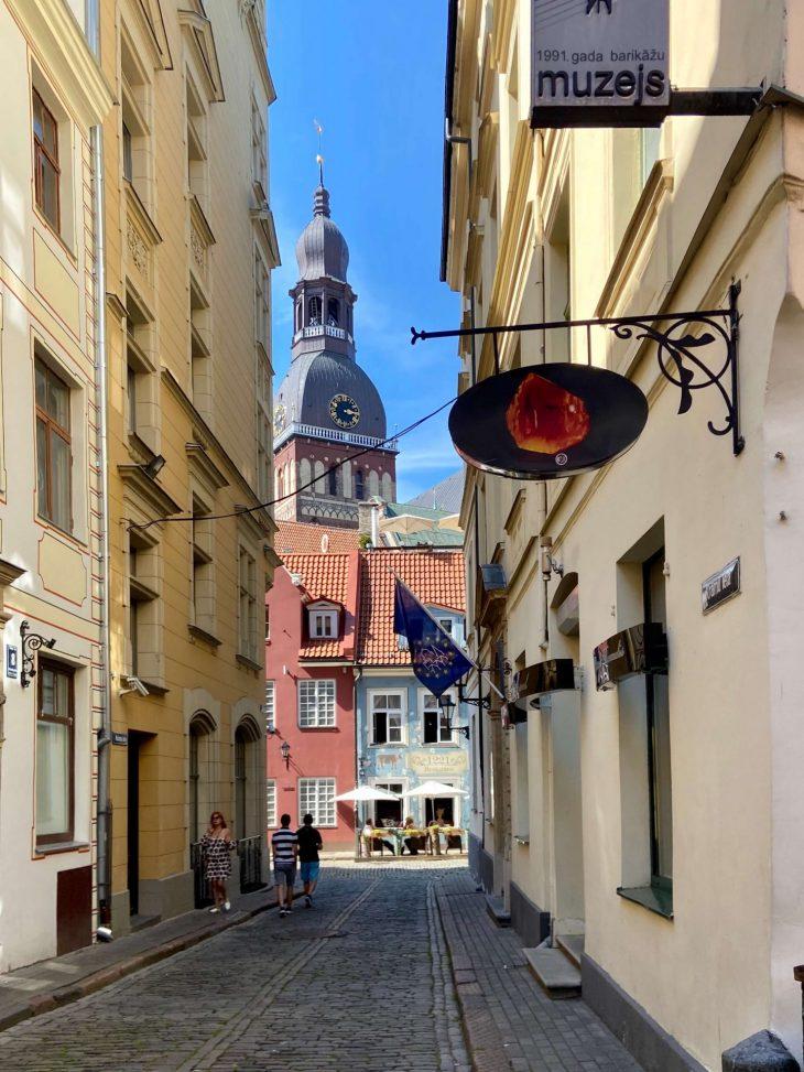 Riika risteily - nähtävää: Vanha kaupunki