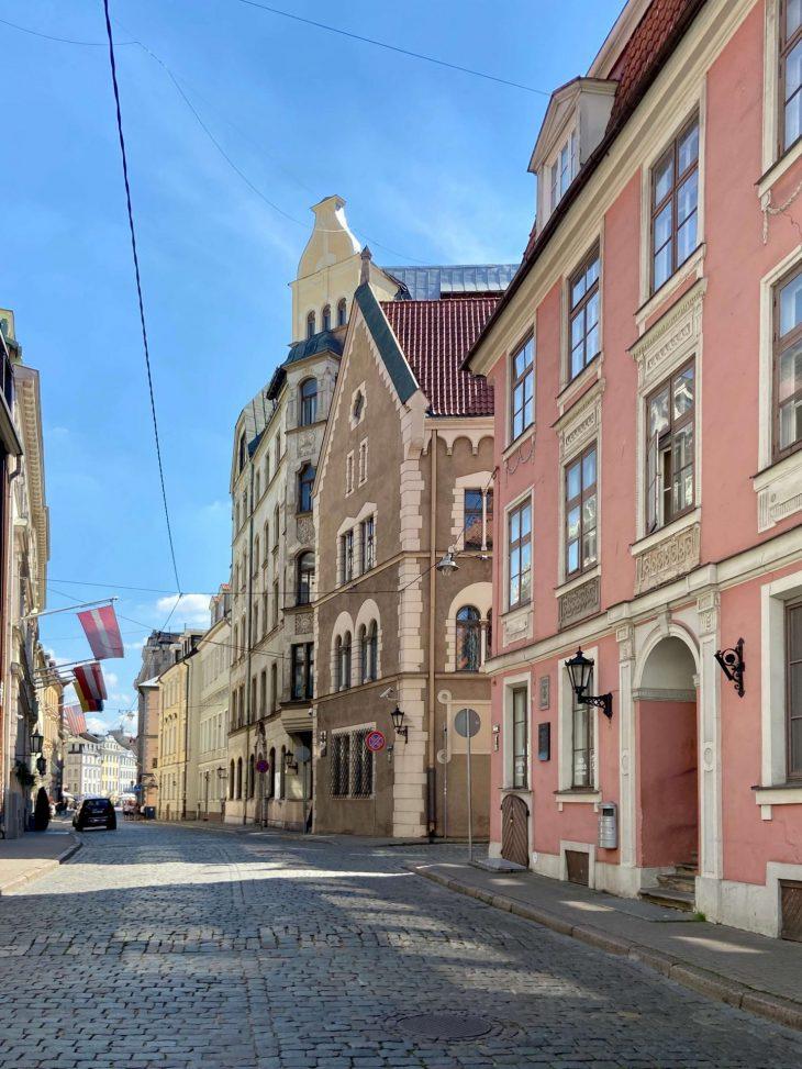 Helsinki-Riika risteily, nähtävää - Vanha kaupunki