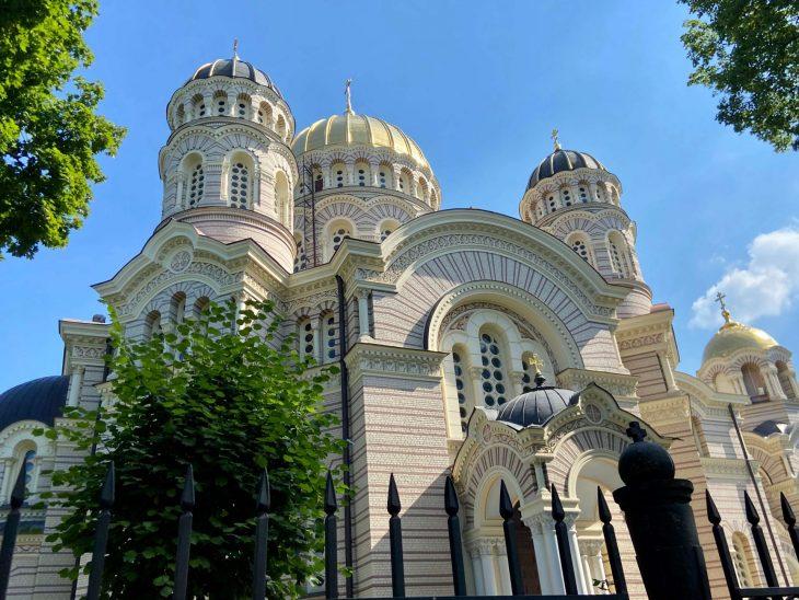Helsinki Riika risteily, nähtävää - Vanha kaupunki, kirkot, Riika