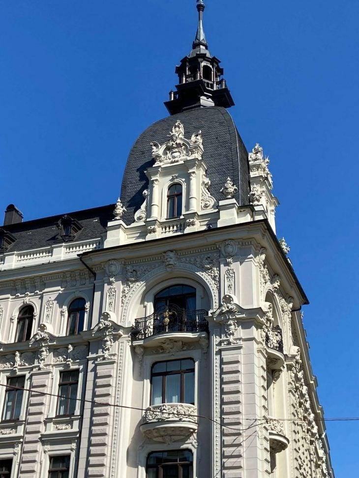 Riika risteily, nähtävää: jugend-talot, Vanha kaupunk