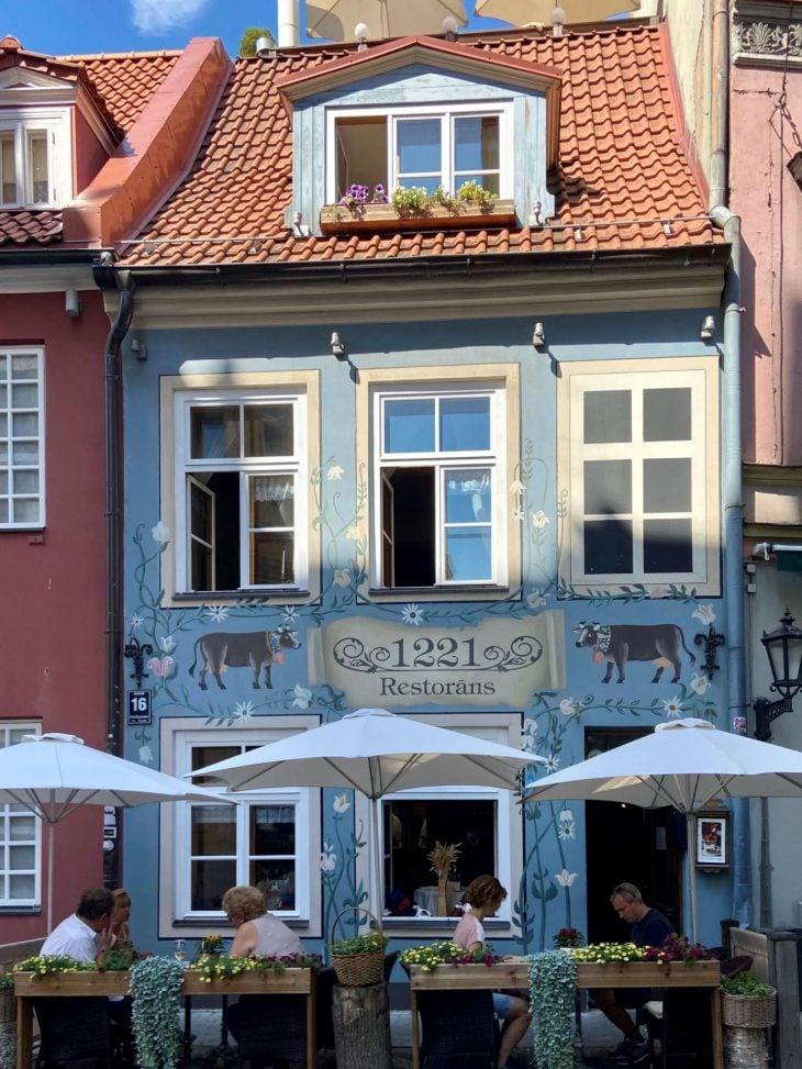 Riika risteily, nähtävää - Vanha kaupunki, talot ja ravintolat