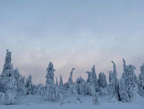 Ruka Valtavaaran talvireitti vaellusreitit patikointi