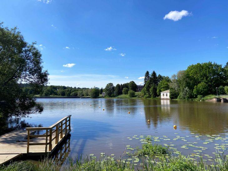 Aurajokilaakso Halinen luontopolku Turku kajakki vuokraus luontokohde