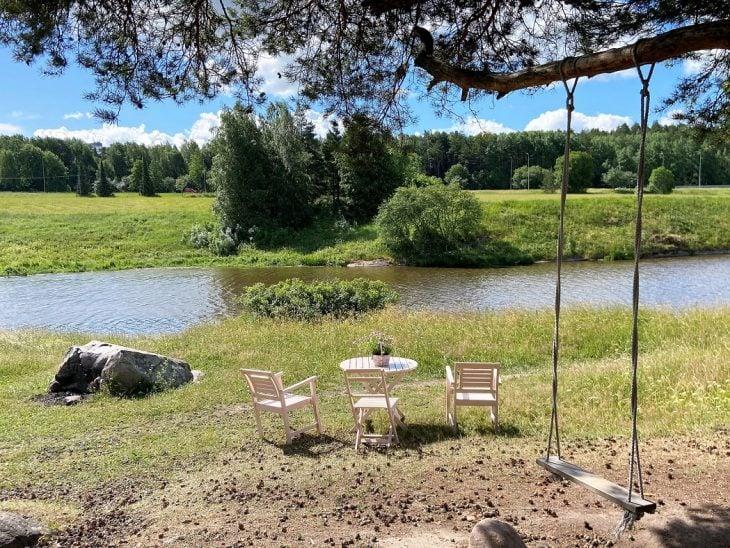 Aurajokilaakso luontopolku Turku luontokohde kansallismaisema Halinen
