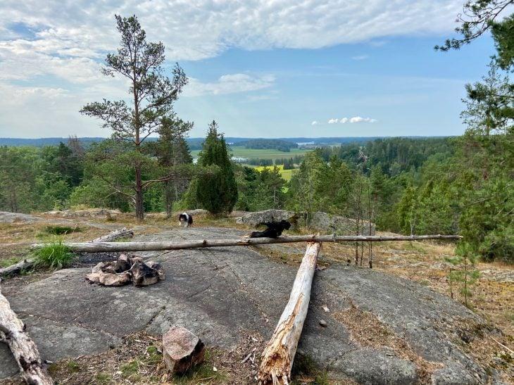 Kuusiston linnanrauniot luontopolku Kaarina Turun lähellä luontokohde