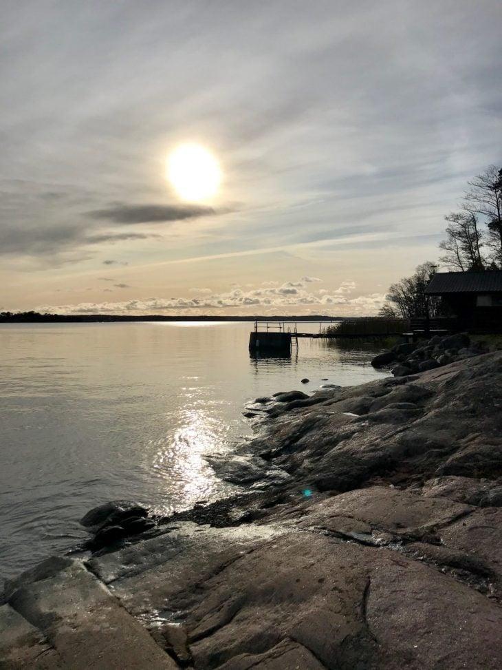 Ruissalo Kuuvan rannassa luontopolku Turku luontokohde