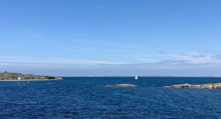 Ulkomeri Saaristomeri yhteysalus saaristo Utön reitti