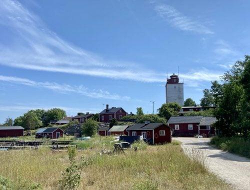Utö majakkasaari ulkosaaristo kylä