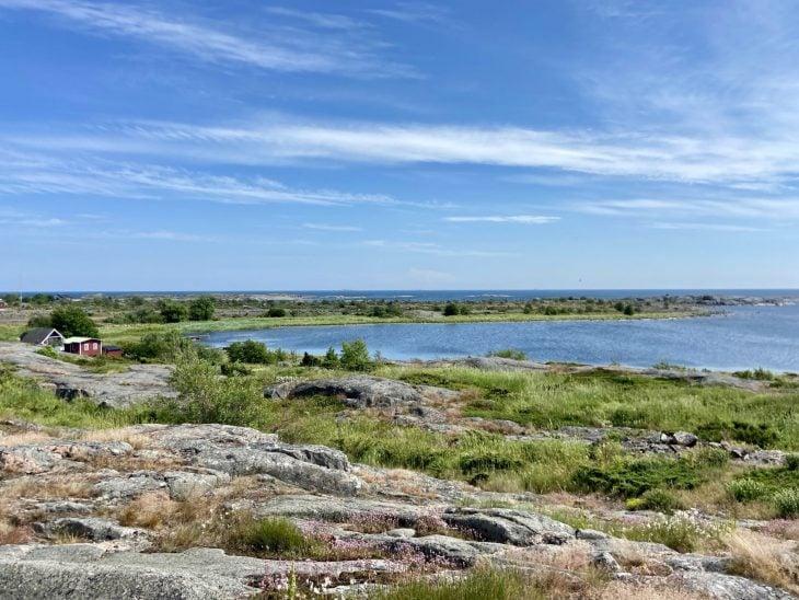 Utö saaristokylä näkymät majakan luota