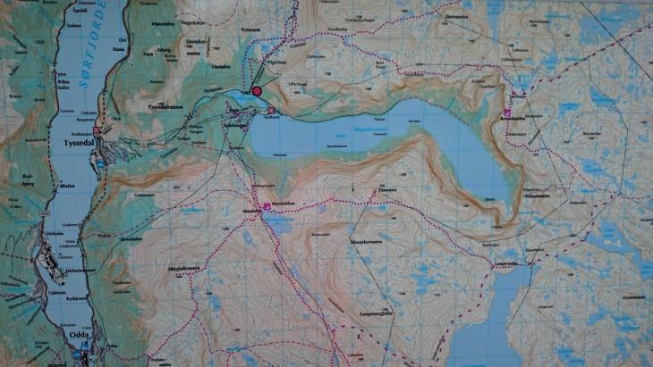 Vuoristossa menee myös paljon muita reittejä, eli kannattaa välillä tarkistaa opasteista, että on oikealla polulla