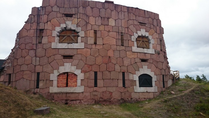 Bomarsundin linnoitusta