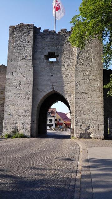Pääsisäänkäynti vanhaan kaupunkiin