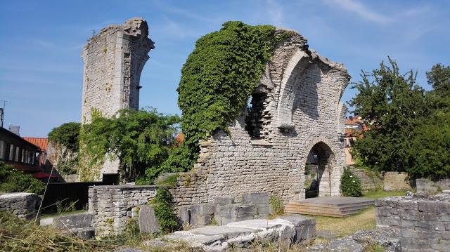 Vanhan kaupungin raunioita