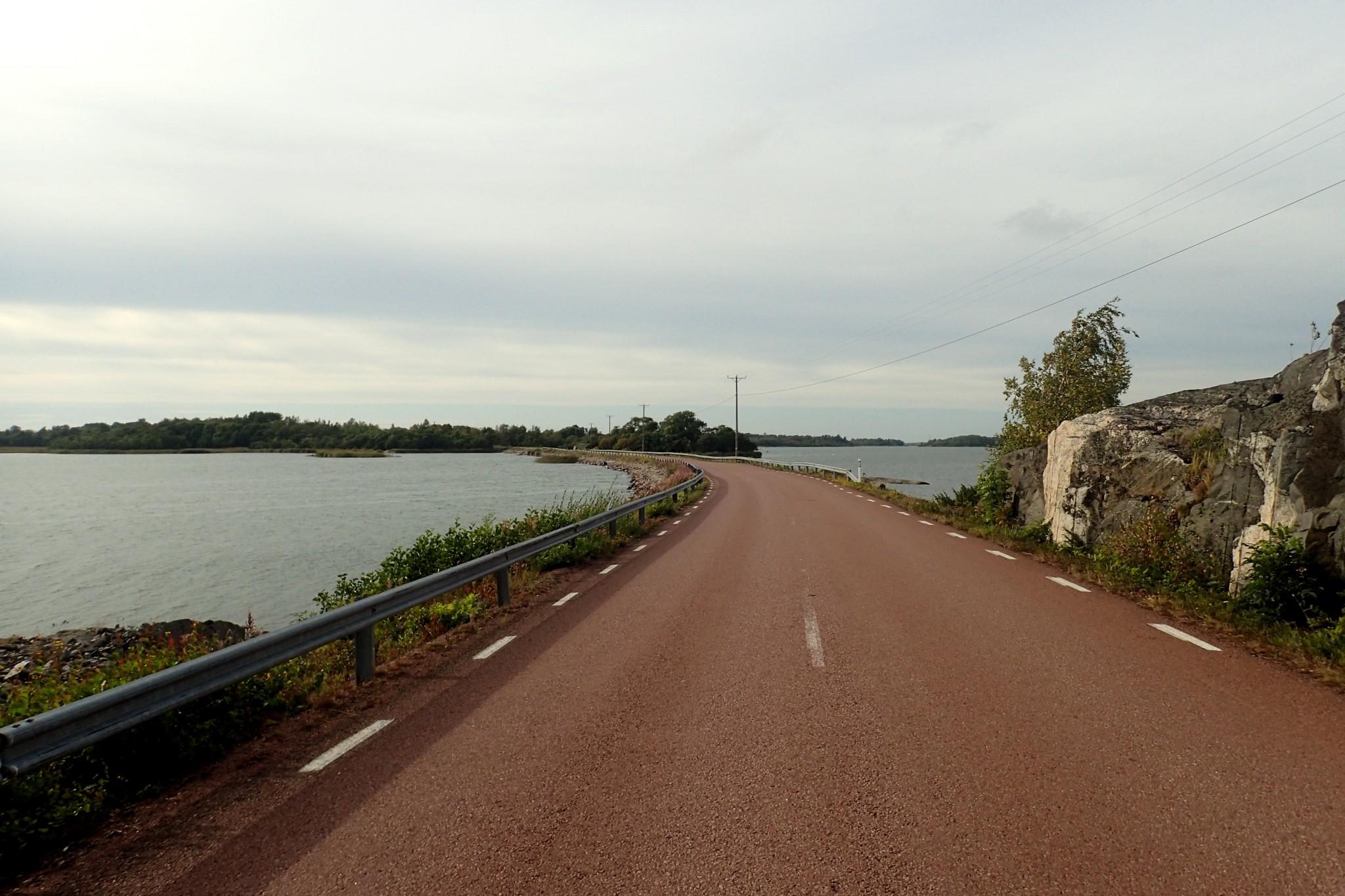 Saarilla on todella leppoisaa ajella pyörällä