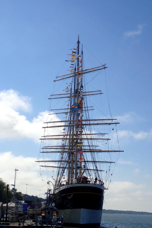 Pommern on kuljettanut puutavaraa Skandinaviasta, salpietaria Chilestä ja vehnää Australiasta.