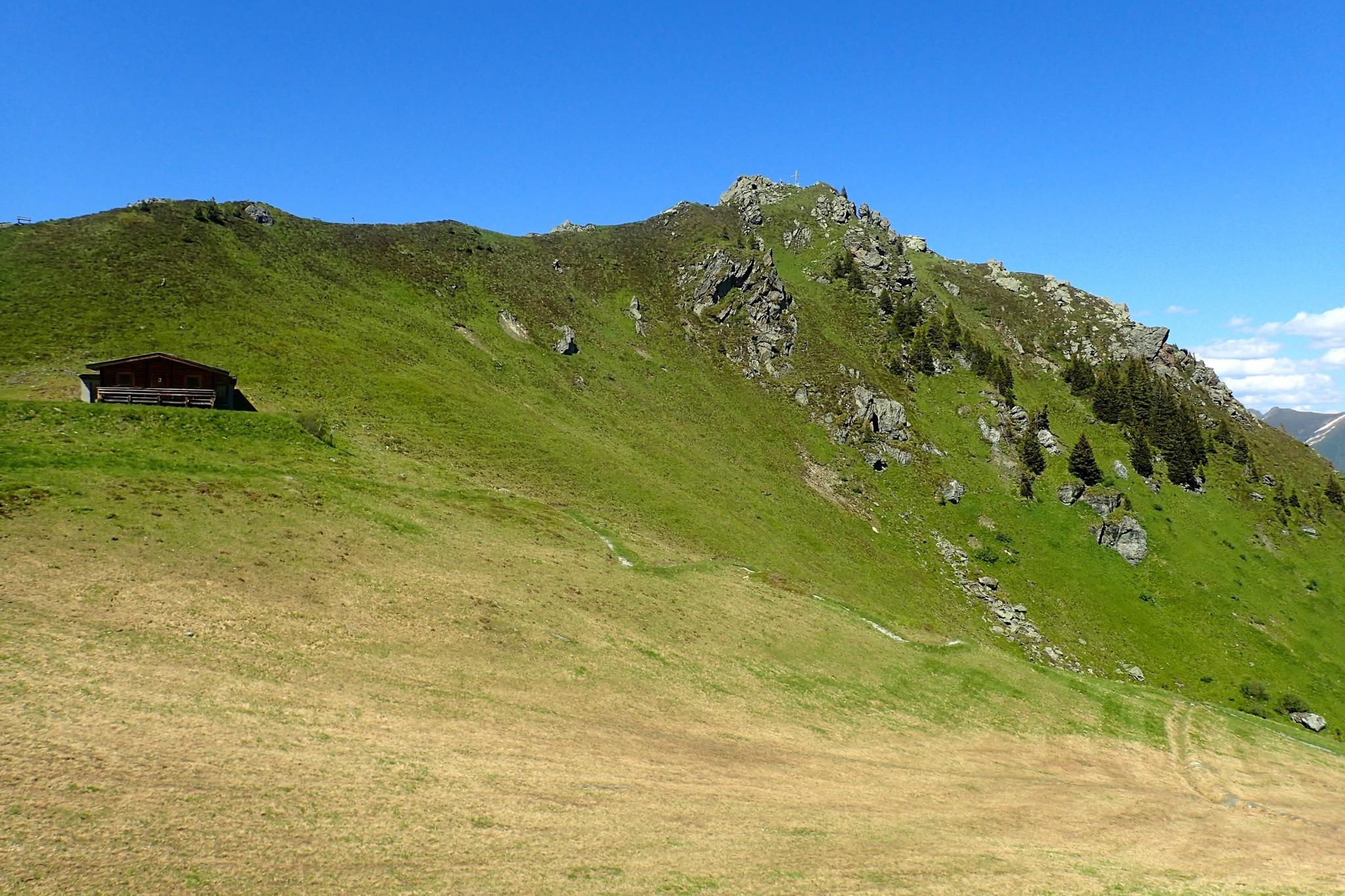 Hirschkarspitzen huippu