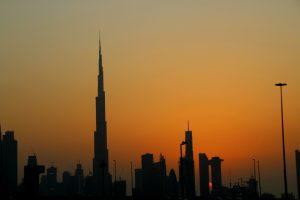 Dubain silhuetti