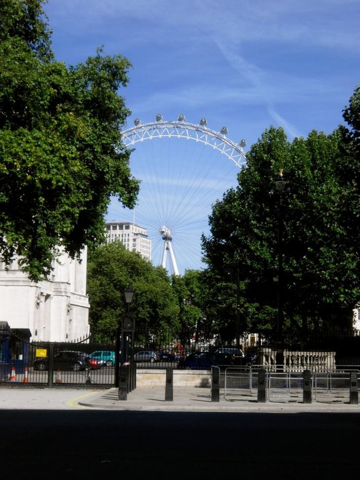 Enpä tiennyt silloin 2009, että neljä vuotta myöhemmin menisin kihloihin London Eyessa.