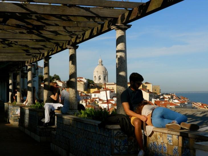 Alfama on Lissabonin fado-kaupunginosa.