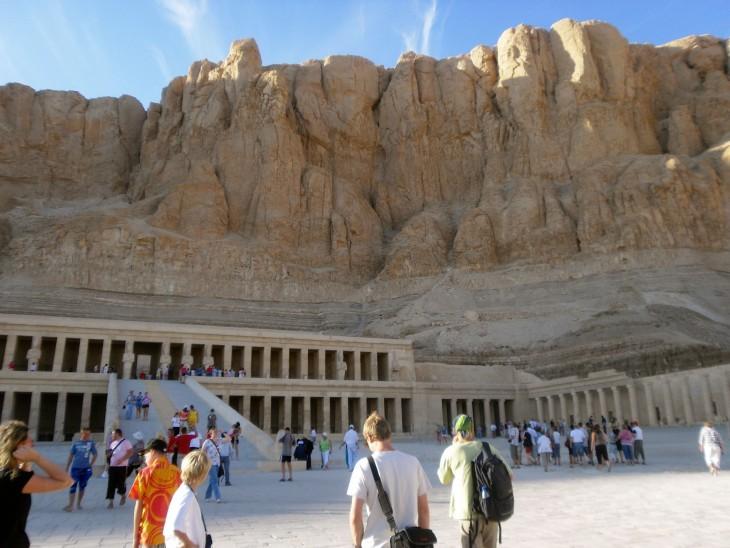 Deir el Bahrin temppelialue