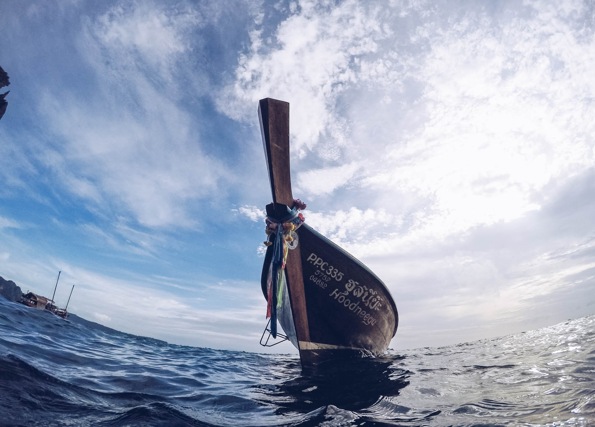 phiphi thailand gopro travel explore longtail
