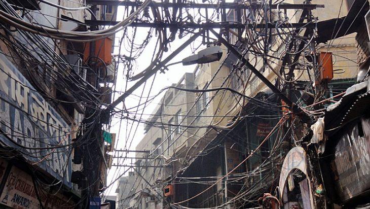 Sähköt intiassa