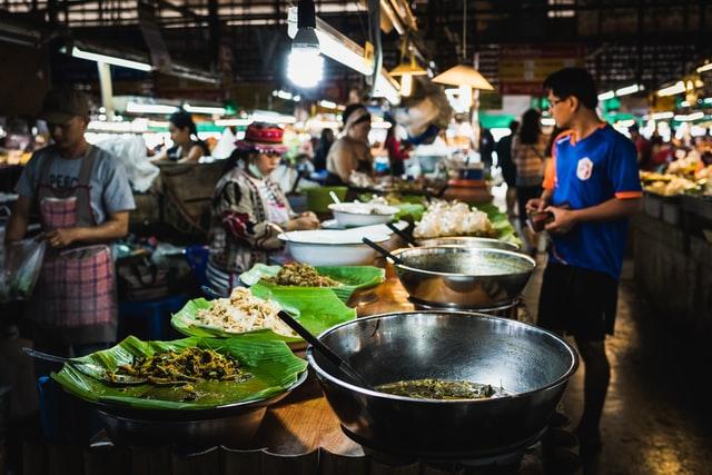 Thaimaalainen keto ruoka