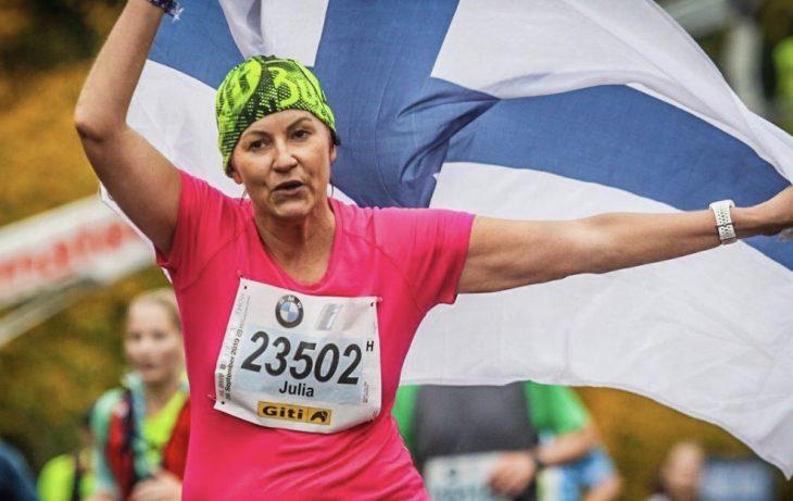 Maratoonariksi Berliinissä