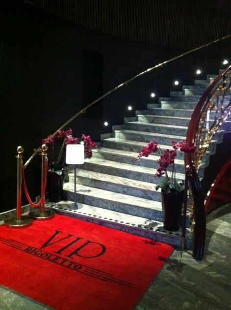 Rigoletto's VIP entrance. © Paula D.