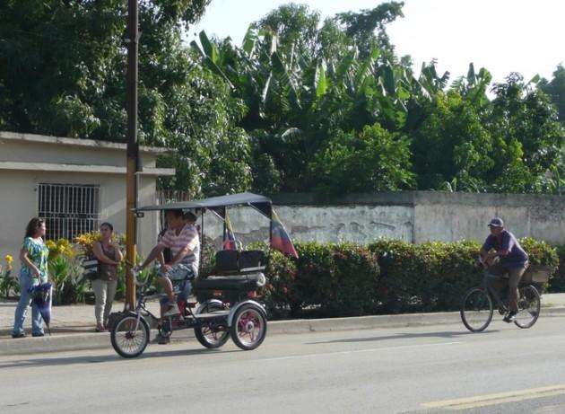 Polkupyörätaksi Las Tunasissa.