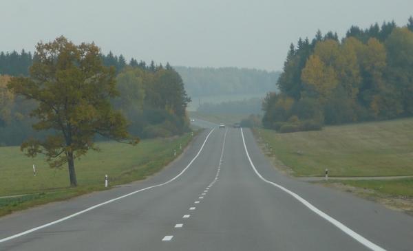 Pohjoisen Valko-Venäjän maisemia.