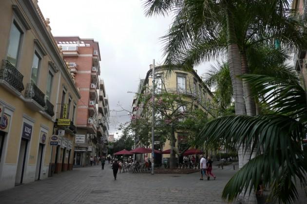 Satunnaisnäkymä saaren pääkaupungista.