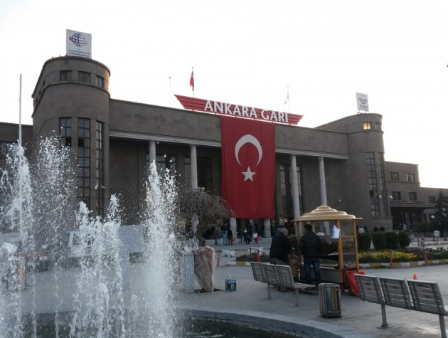Ankaran rautatieasema.