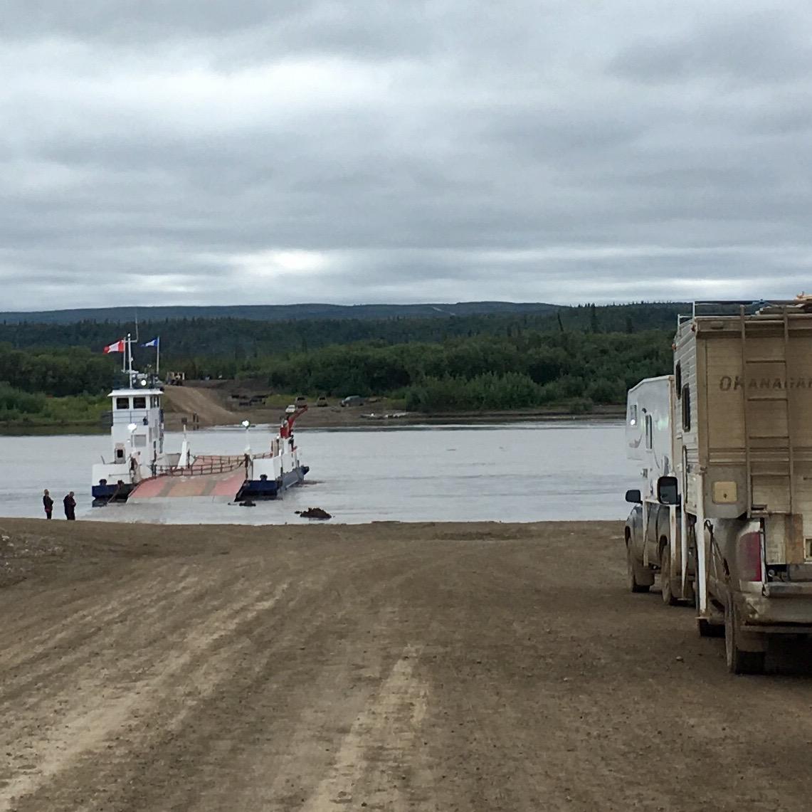 Päivä 268, Peel River (Luoteisterritoriot, Kanada)