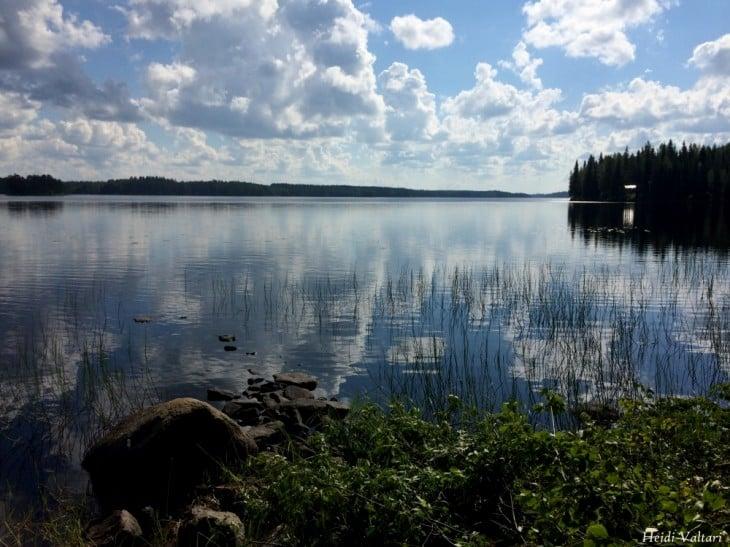 Finland, lake view