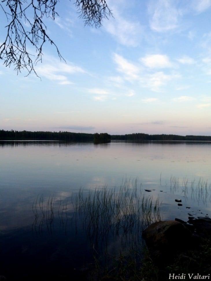Finland lake