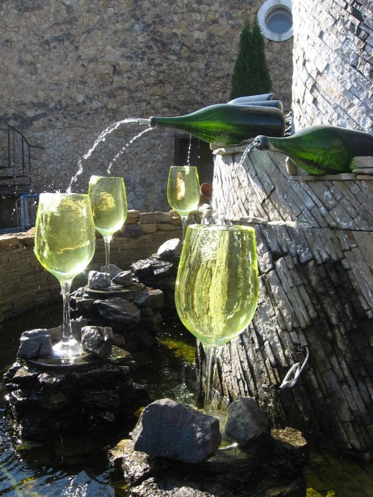 Viinitilan vesilähde