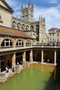 Vanha roomalainen kylpylä