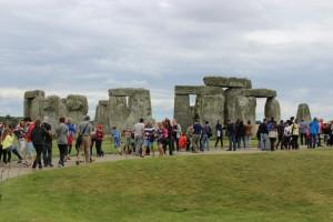 Stonehenge on suosittu nähtävyys