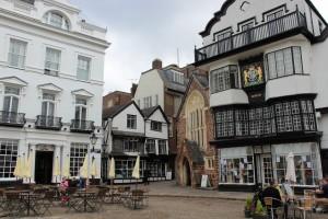 Exeter on ihana pieni kaupunki