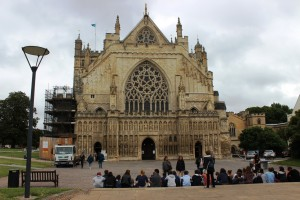 Exeterin katedraali