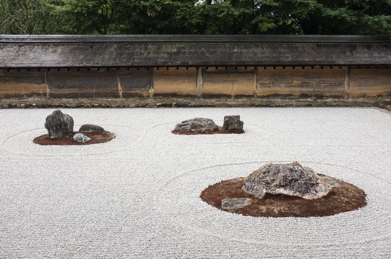 Ryoan-ji kivipuutarha