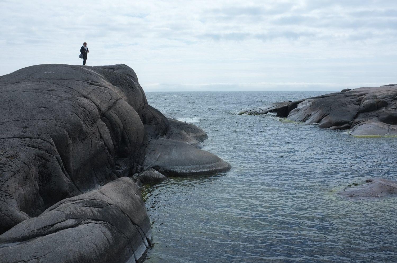 ulkosaariston kallioita